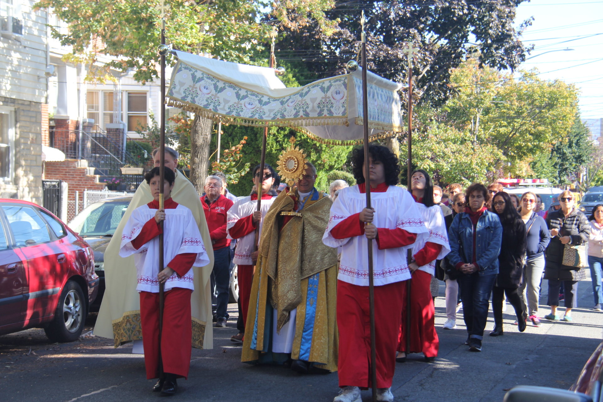 2019 Annual Parish Rosary & Eucharistic Procession