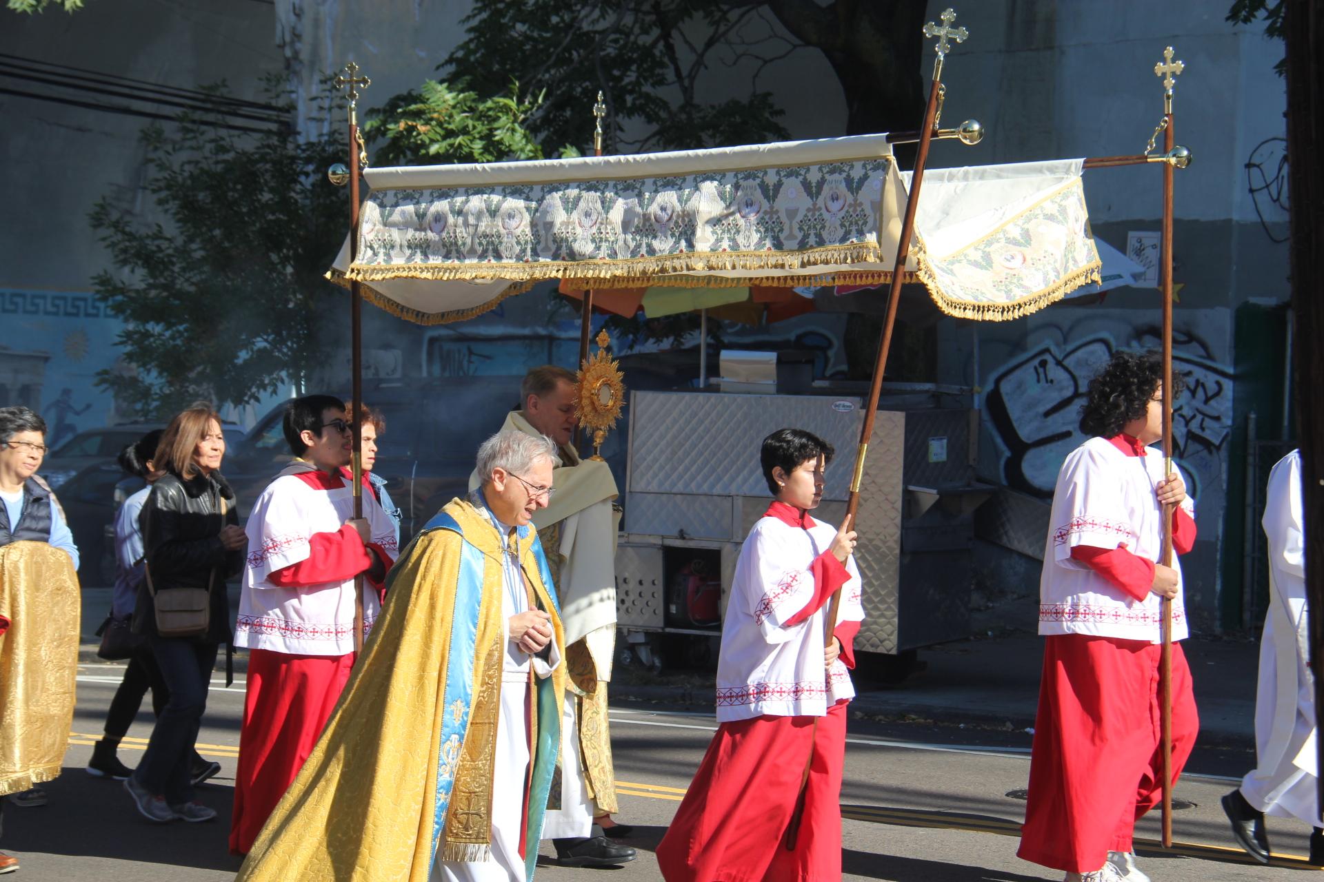 2019 Annual Parish Rosary & Eucharistic Procession Photos