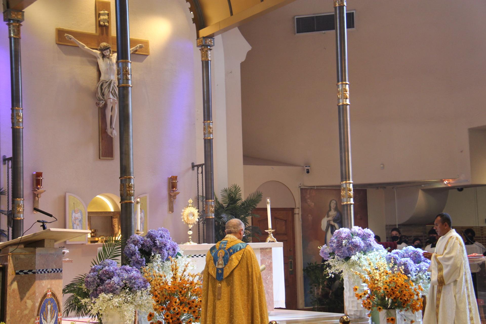 2021 Annual Parish Rosary & Eucharistic Procession Photos